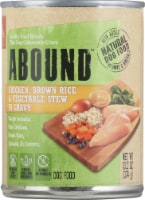 ABOUND™ Chicken Brown Rice & Vegetable Stew in Gravy Dog Food