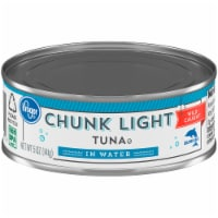 Kroger® Wild Caught Chunk Light Tuna in Water - 5 oz