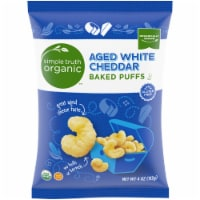 Simple Truth Organic™ Aged White Cheddar Baked Puffs