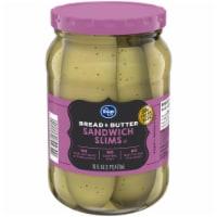 Kroger® Gluten Free Bread & Butter Pickle Sandwich Slims