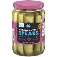 Kroger® Sugar Free Bread & Butter Pickle Spears - 24 fl oz