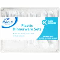 Kroger®  Plastic Dinnerware Sets