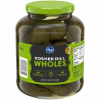 Kroger®  Kosher Whole Dill Pickles Jar