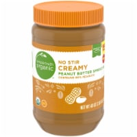 Simple Truth Organic® No Stir Creamy Peanut Butter Spread