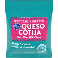 Kroger® Natural Grated Queso Cotija Part Skim Milk Cheese