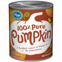Kroger® 100% Pure Canned Pumpkin
