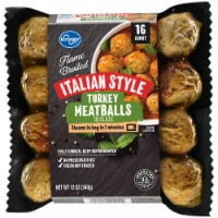 Kroger® Flame Broiled Italian Style Turkey Meatballs in Glaze 16 Count
