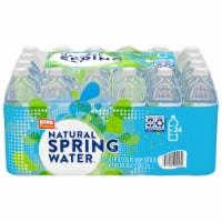 King Soopers™ Natural Spring Water - 24 bottles / 16.9 fl oz