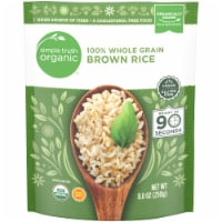 Simple Truth Organic™ 90 Second 100% Whole Grain Brown Rice