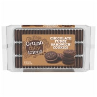 Crumbdillyicious™ Chocolate Fudge Sandwich Cookies