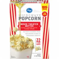 Kroger® Movie Theater Butter Microwave Popcorn 22 Count