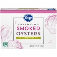 Kroger® Premium Smoked Oysters in Sunflower Oil - 3.75 oz