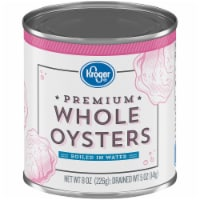Kroger® Premium Whole Oysters Boiled in Water