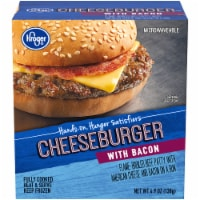 Kroger®  Microwaveable Cheeseburger with Bacon Box