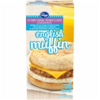 Kroger® Lite Turkey Sausage Egg & Cheese English Muffins 2 Count