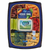 Kroger® Turkey Sausage Bites Cheese and Veggie Tray with Dip