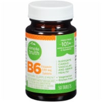 Simple Truth™ B-6 Vitamin Tablets 100mg 50 Count