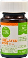 Simple Truth™ Chelated Iron Tablets 29 mg
