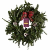 BLOOM HAUS™ 22 Inch Outdoor Holiday Wreath