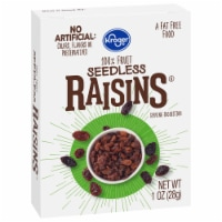 Kroger® Seedless Raisins - 6 ct / 1 oz