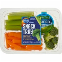 Kroger® Carrots Celery Broccoli & Ranch Dip Snack Tray