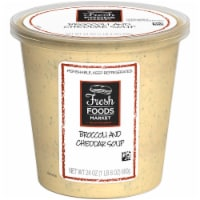Fresh Foods Market Broccoli and Cheddar Soup