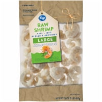 Kroger® Raw Tail-Off Peeled and Deveined Large Shrimp