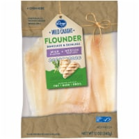 Kroger® Wild Caught Boneless & Skinless Flounder Fillets