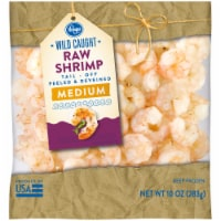 Kroger® Wild Caught Medium Raw Shrimp
