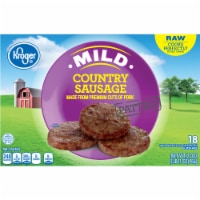 Kroger® Mild Country Sausage Patties