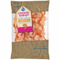Kroger® Tail-On Peeled & Deveined Medium Cooked Shrimp