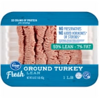 Kroger® 93% Lean Fresh Ground Turkey