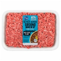 Kroger® Ground Beef Chili Meat - 1 lb
