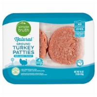 Simple Truth™ Natural 93% Lean Ground Turkey Patties