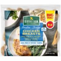 Heritage Farm® Boneless Skinless Chicken Breasts - 6 lb
