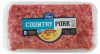 Kroger® Country Pork Ground Sausage
