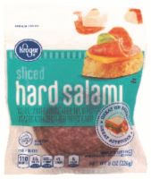 Kroger Sliced Hard Salami
