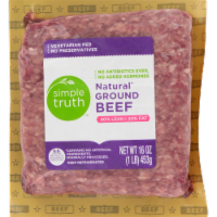 Simple Truth™ 80% Lean Natural Ground Beef - 1 lb
