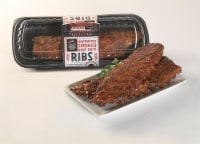Fresh Foods Market Hardwood Smoked Baby Back Ribs - Cold