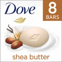 Dove Purely Pampering Warm Vanilla Shea Butter Beauty Bars 8 Count