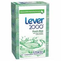 Lever 2000 Bar Soap,3.15 Oz.,Fresh,Deodorant,PK48  CB327126 - 3.15 oz.