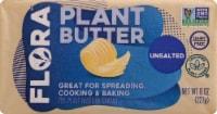 Flora Unsalted Plant Butter Brick
