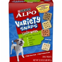 ALPO Variety Snaps Little Bites Beef Chicken Liver & Lamb Dog Treats