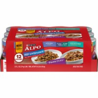 ALPO Beef Lover's Wet Dog Food Variety Pack 12 Count