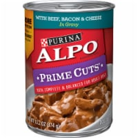 ALPO Prime Cuts Beef Bacon & Cheese Wet Dog Food