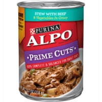 ALPO Prime Cuts Stew with Beef & Vegetables Wet Dog Food
