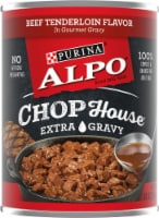 Purina Alpo Chop House Beef Tenderloin Flavor Wet Dog Food