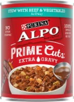Purina Alpo Prime Cuts Stew with Beef & Vegetables in Gravy Wet Dog Food
