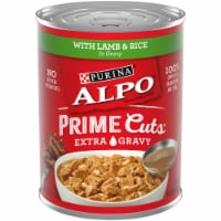 Purina Alpo Prime Cuts Lamb & Rice in Gravy Wet Dog Food