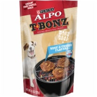 ALPO T-Bonz Beef & Cheese Flavored Dog Treats 5 Count